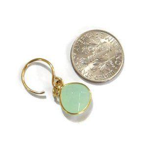Moodtherapy Jewelry - New Labradorite Gem Teardrop Briolette Earrings